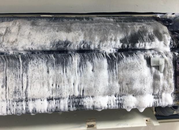 Dirty Fan Coil